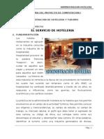 Proyecto Administracion_Hoteleria y Turismo