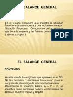 Sesión 11 Los Estados Financieros ( relación BG y E de R )