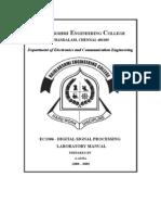 EC1306 Digital Signal Processing Laboratory [REC]