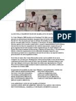 Nota de Prensa Copa Olimpica[1]