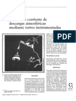 Medida de Corriente de Descargas Atmosfericas Mediante Torres Instrumentadas