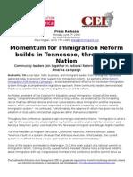 Reform Immigration for America Kicks Off in Nashville