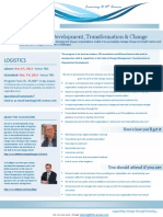 Organization Development, Transformation & Change Management in Pakistan