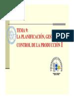 LA PLANIFICACIÓN, GESTIÓN Y CONTROL