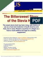 Nexus Magazine, Vol 10, N°2 (Feb 2003) - Jenny Hawke - The Bittersweet Story of the stevia Herb