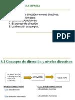 1. Direccion de La Empresa