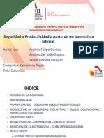 6.Seguridad y Productividad a Partir de Un Buen Clima Laboral