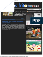Merengue_ Tipos, Recetas, Problemas, y Curiosidades _ Webos Fritos