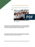 22-08-2013 Puebla Noticias - Entrega Moreno Valle mil 545 certificados parcelarios y títulos de propiedad
