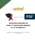 Guideline 8th Graduation Ceremony