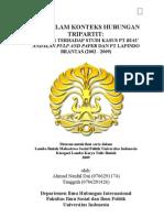 CSR DALAM KONTEKS HUBUNGAN it Analisis Terhadap Studi Kasus PT Riau Andalan Pulp and Paper Dan PT Lapindo Brantas 2002-2009