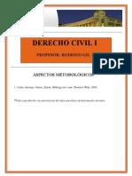 Lectura Obligatoria Para Clase 3 Introduccio 769 n Al Derecho Privado y Aspectos Metodolo 769 Gicos