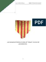 """Dossier de CCV sobre la falsetat del """"penó de la conquesta"""""""