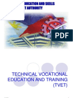 TVET Reforms and CB Approach