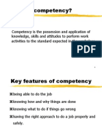 Workshop 1 - What is Competency