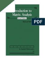 Bellman - Introduction to Matrix Analysis, 2ed (Classics in Applied Mathematics) (2ed SIAM 1997)