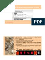 Introducción al estudio de minerales y rocas