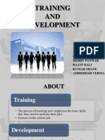 Training and Development of supervisor for garment manufacturing industries