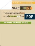 Software Libre y La Construccion Etica