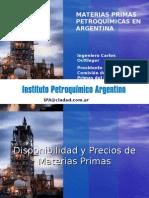 PRESENTACIÓN AL CONGRESO PETROQUÍMICO DE BRASIL 2008
