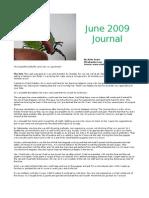 Anita Evans Vilcabamba Journal June 09