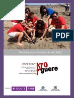 Memoria Grupo 2012