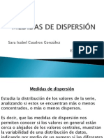 Clase....Medidas de Dispersion