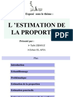 Exposé_Estimation de la proportion