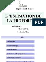 Exposé_Estimation de la proportion