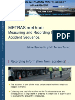 METRAS method: Measuring and Recording the Traffic Accident Sequence