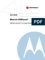 SB6182 DOCSIS 3.0 Cable Modem User Guide