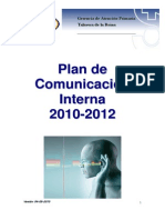 Plan Comunicacion Interna2010