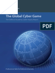 The Global Cyber Game - A Defence Academy Cyber Inquiry Report