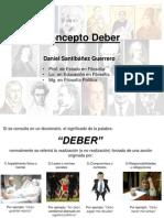Concepto Deber