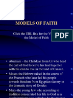 Contemporary Models of Faith