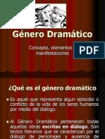 PPT GENERO DRAMÁTICO
