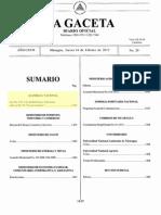 Ley de Amparo - Ley 831 - Nicaragua