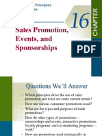 Chapter 16-Sales Promotion, Events and Sponsorship