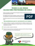 Bienvenido a las áreas silvestres protegidas de Chile