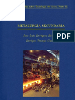 Metalurgia Secundaria Escorias