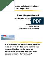 Trayectoria metodológica de Feyerabend