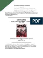 GENOCIDE of the Ethnic Germans in Yugoslavia 1944-1948 (2007)