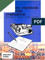 Basic Sensory Methods for Food Evaluation