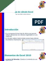 Hoja de cálculo Excel