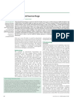 Subarachnoid Haemorrhage, Lancet, 1-07