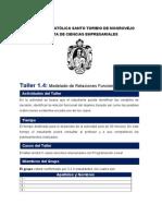 TALLER No 1.4 Programacion Lineal