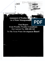 Weather Modification Final Report