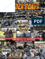 Thunder Roads Virginia Magazine - October 2013