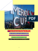 AMERICAS CUP 2013 FINAL RACE FOOTAGE by VK 9/25/13 SAN FRANCISCO BAY