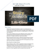 Part 10 - Life-Giver (Luke 7:1-17)